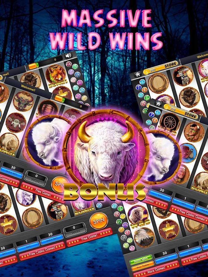 legend of the white buffalo slot machine