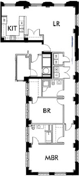 Go to Lincoln American Tower - B4 Floorplan page.