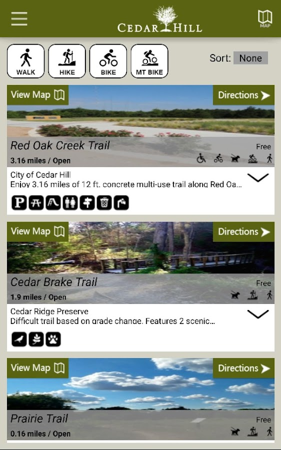The Trails of Cedar Hill- screenshot
