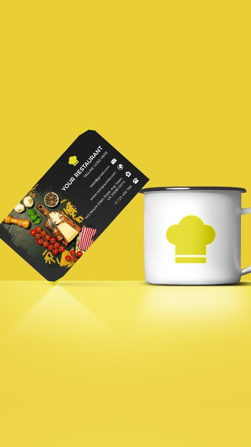 Business Card Maker - Branding Template Editor Screenshot 1