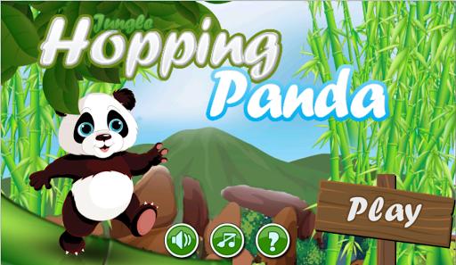 jungle hopping panda
