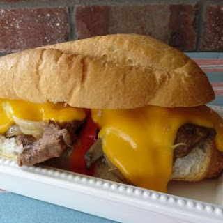 Dave's Beef and Cheese Sandwich