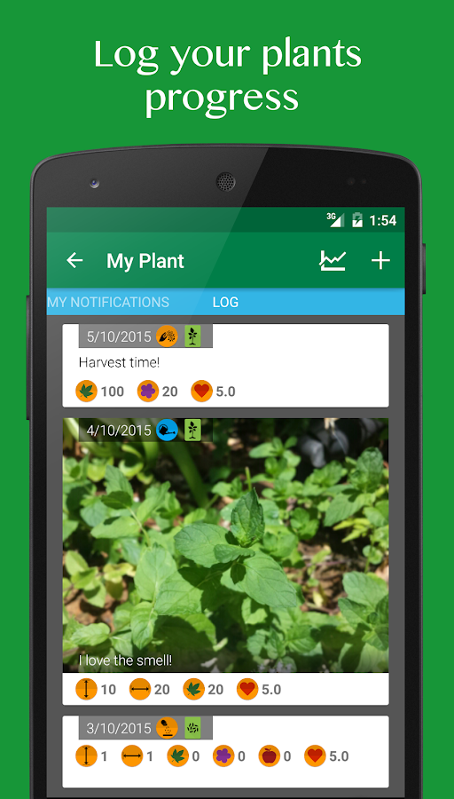 vegetable garden plant growth android apps on google play