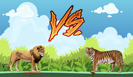 Lion vs Tiger Fighting Games