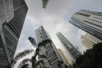 Photo: Kuala Lumpūro centre.  In Kuala Lumpur centre.