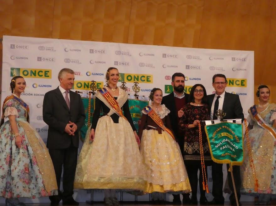 Ferros Juan Bta. Perales va ser guardonada dels premis solidaris