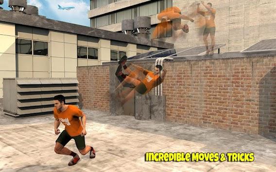 Real Parkour 3D: Freestyle Runner Go apk screenshot