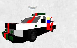 警察車両 Police car改造