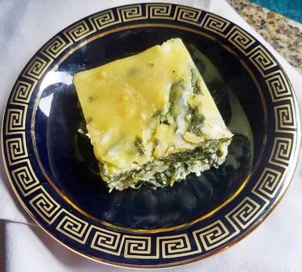 Greek Spinach Parsley Pie Recipe