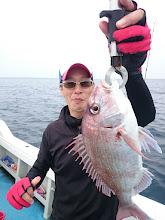 Photo: 真鯛キャッチです!