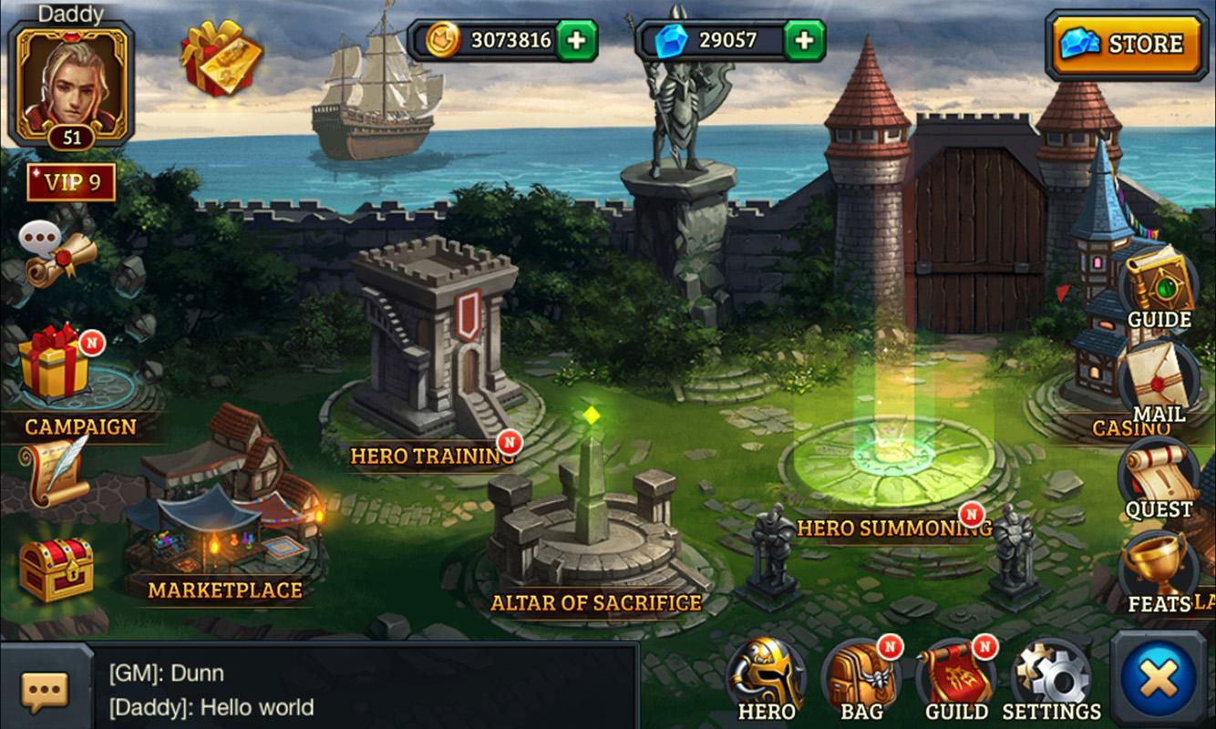 Dungeon Rush- screenshot
