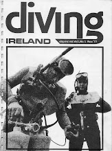 "Photo: ""Diving Ireland"", cover of first issue."