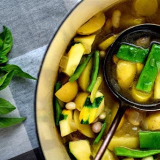 Provençal Vegetable Soup With Basil