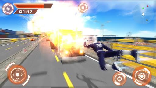 Flying Hero Iron Spider VS Mafia Fighter Adventure 2.3 screenshots 5