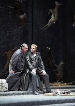 Photo: Wiener Staatsoper: SIEGFRIED am 17.1.2016. Jochen Schmeckenbecher,  Tomasz Konieczny.  Copyright: Wiener Staatsoper/ Christian Pöhn
