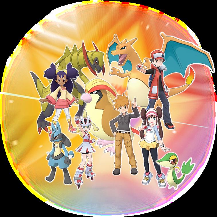 Pokemon Masters Character