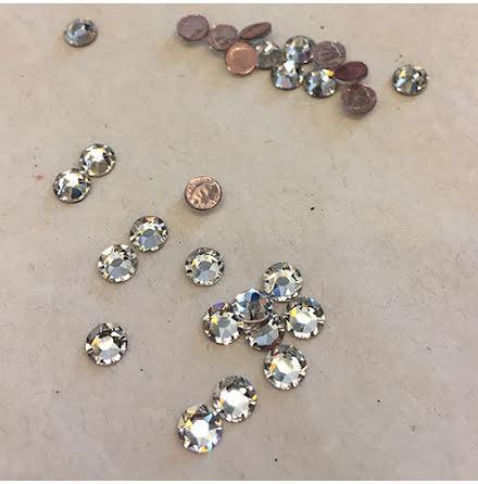 Swarovski Kristall - crystal/silver