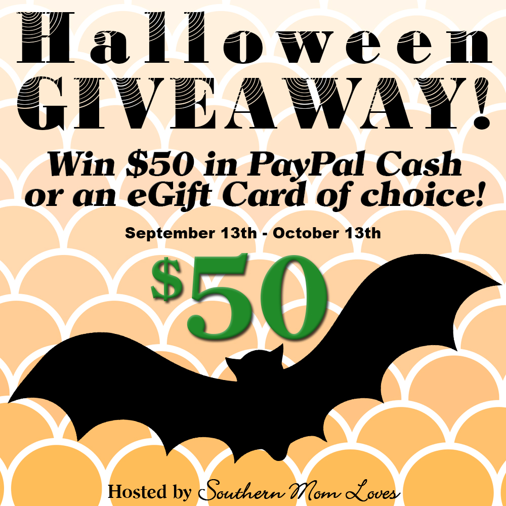 #WIN a $50 Paypal cash or eGift Card of your choice - This #Halloween #Giveaway Ends 10/13