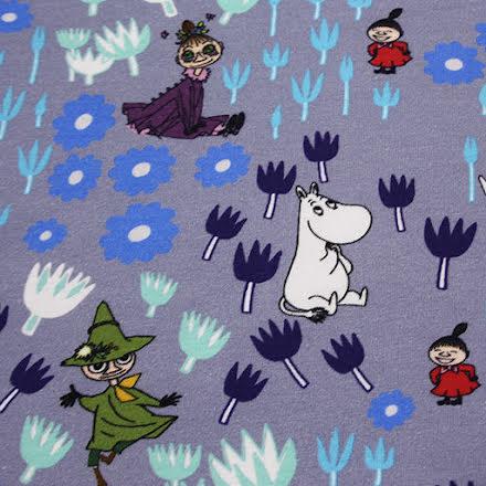 Moomin Bomullstrikå - lila