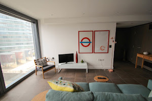 angel serviced apartment spacious living area