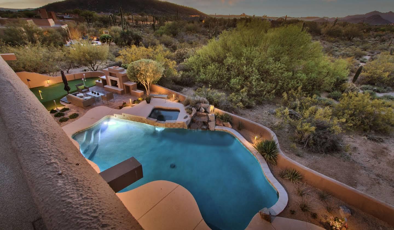 Maison avec piscine et terrasse Scottsdale