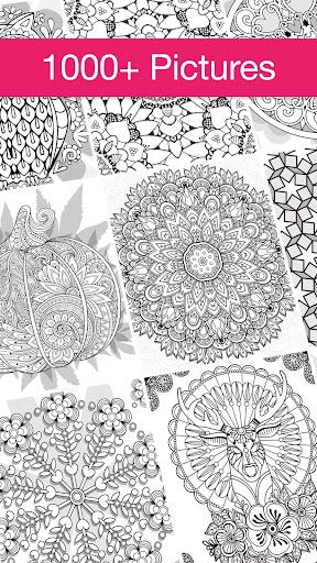 Mandala Coloring Book ? Free Adult Coloring Book 2.7.3 screenshots 2