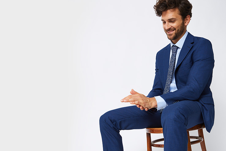 Check out our wide range of men's suits
