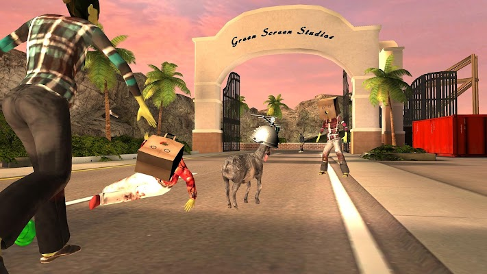 Cabra Simulator GoatZ - tela capturada
