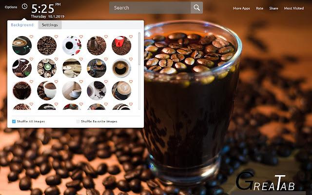 Best Coffee Wallpapers Theme Greatab