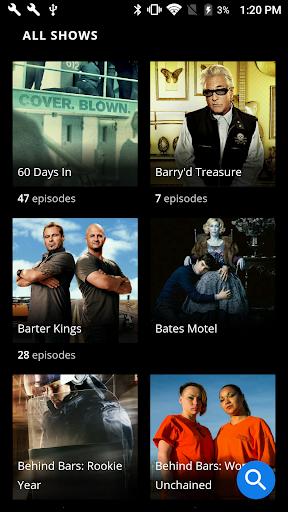 A&E - Watch Full Episodes of TV Shows screenshot 2