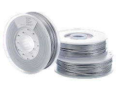 Ultimaker Silver Metallic PLA Filament - 2.85mm (0.75kg)