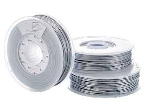 Ultimaker Silver Metallic PLA Filament - 3.00mm (0.75kg)