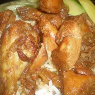 Tasty Trinidad style stew chicken recipe.