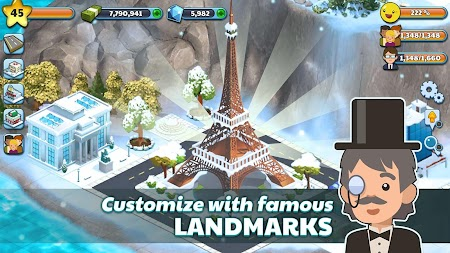 Snow Town - Ice Village World Winter Age APK screenshot thumbnail 3