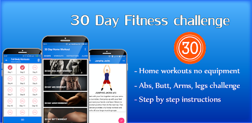30 day home workout fit challenge home workouts apps on google play