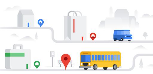 Google MapsGo-Itinéraires, trafic et transports