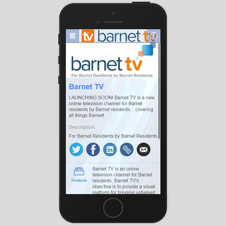 Barnet TV- screenshot