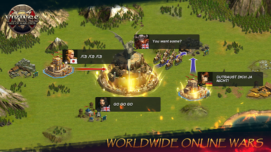 Vikings – Age of Warlords 2.2.2 (MOD + APK) Download 2