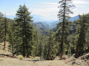 Photo: View east from North Backbone Trail