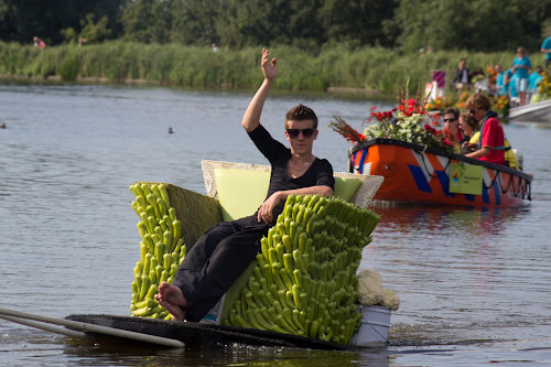 Parade on water by Merina Tjen - Lim - News & Events Entertainment
