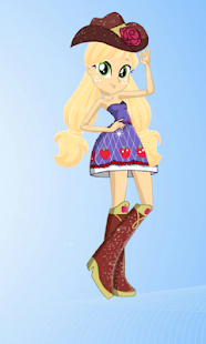 Dress Up Applejack MLPEGames - náhled