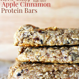 Soft n' Chewy Apple Cinnamon Protein Bars.