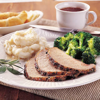 Garlic-Herb Roast Pork.