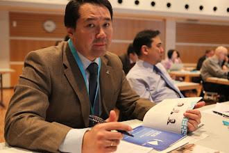 Photo: Issak Sekeyev, Nurzhan Kamalov from Kazakhstan