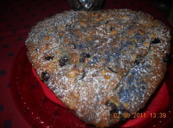 Blueberry Lemon Walnut Bread. Recipe