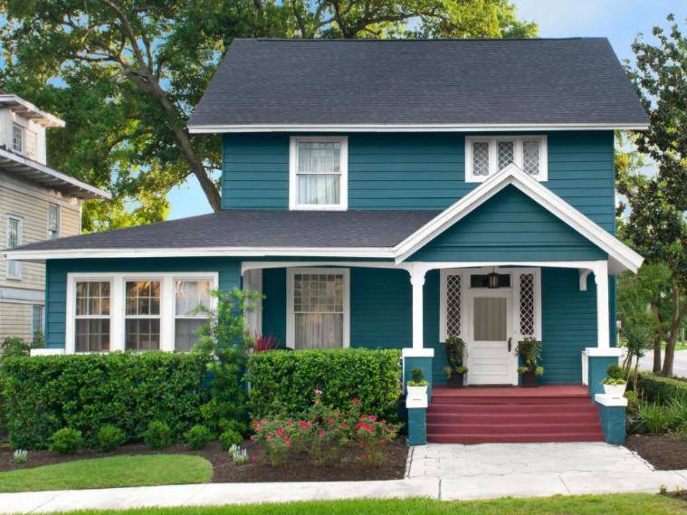 10 Warna Cat Eksterior Rumah Yang Bagus Dan Cara Memilihnya