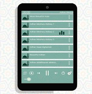 Listen to adhan sounds (athan) screenshot