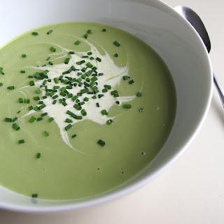 Fresh Garden Pea Soup