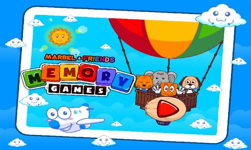 Marbel Memory Games - náhled