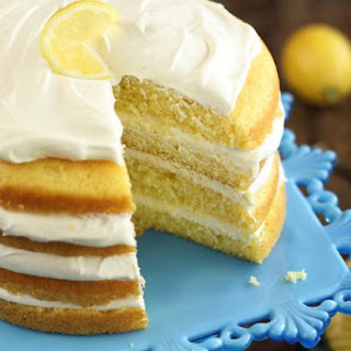 Easy Lemon Cream Cake Recipe